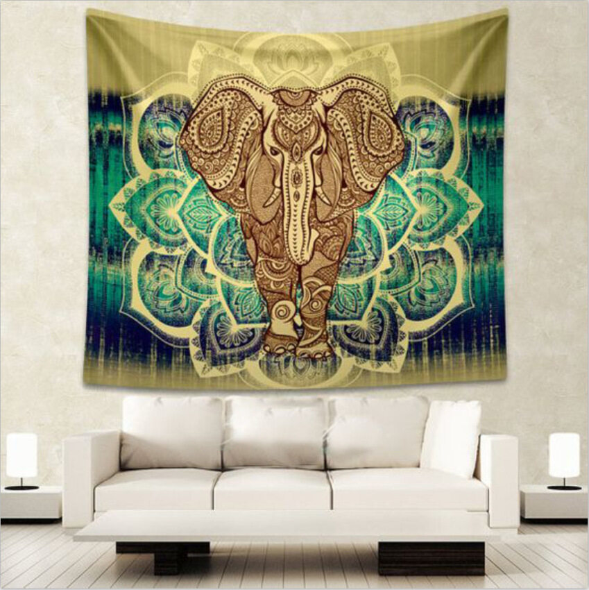 Indian Mandala Tapestry Hippie Wall Hanging Home Decor, Shawl, beach throw, yoga mat