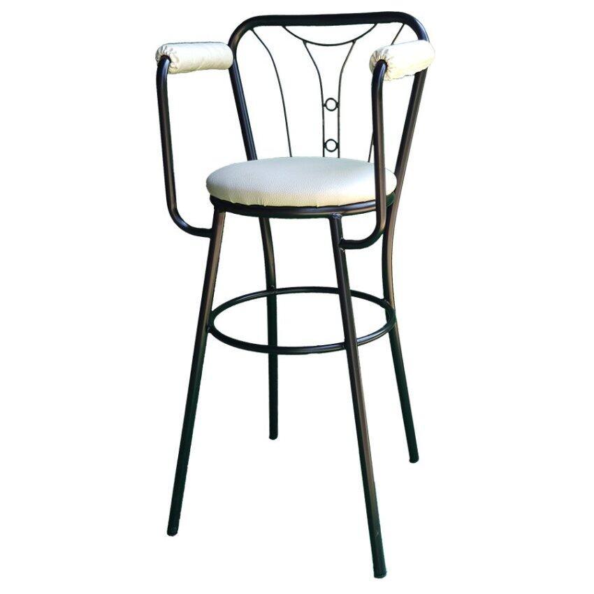 สินค้าแนะนำInter Steelเก้าอี้เด็ก รุ่นShina Doll1โครงดำ-เบาะนวมสีขาว ไม่แพง