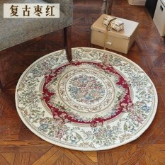 Jhs Yi Us Home Carpet Living Room American Pastoral Style Coffee Tablebedroom Bedside Carpet Electric Mats Brain Chair Round Mats - Intl ราคา 1,070 บาท(-34%)