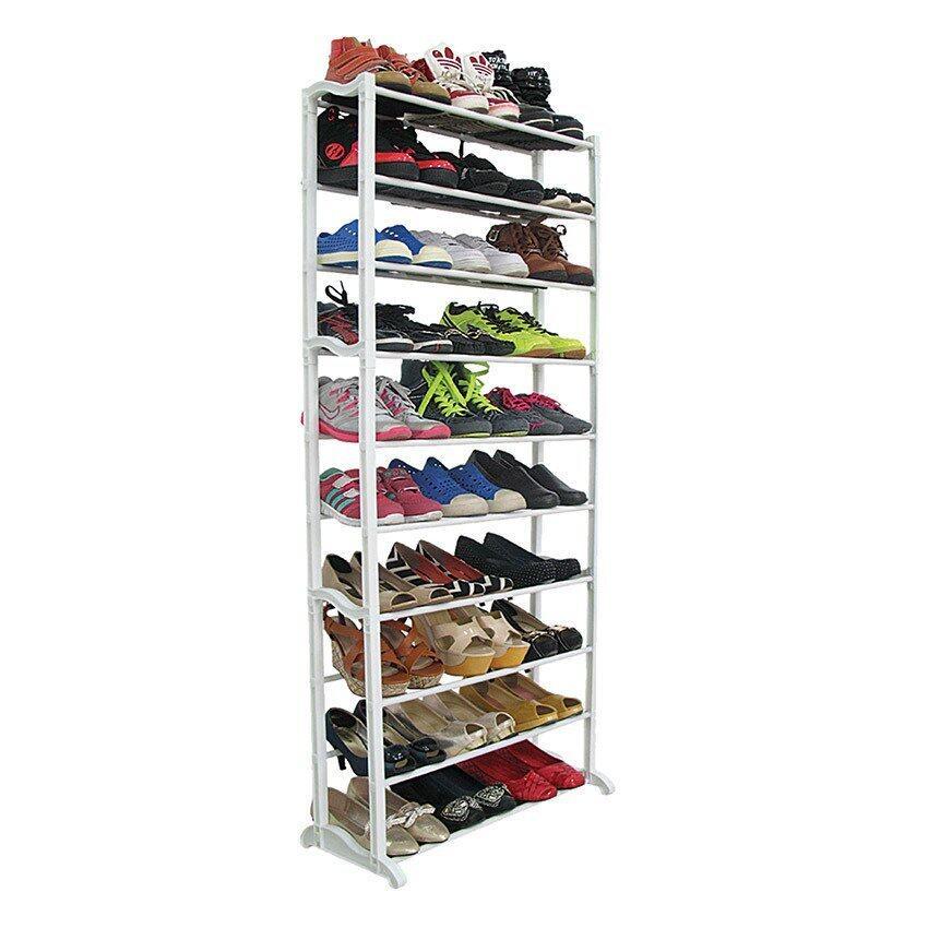 สินค้าแนะนำKantareeya ชั้นวางรองเท้า 10 ชั้น - สีขาว ไม่แพง