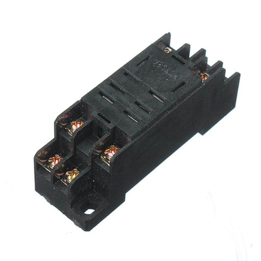 Lvzhi 220V Coil Power Relay 10A DPDT LY2NJ HH62P HHC68A-2Z With Socket Base 8 Pin - intl