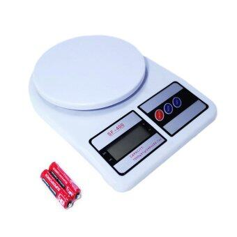 Meedee Electronic Kitchen Scale Max 7 Kg. รุ่น SF-400 (สีขาว)