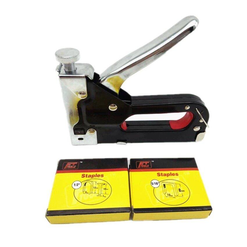 Multifunction Nail Gun 3 Ways Code Nails Manual Nail Staple Gun For Wood Furniture Door  ...