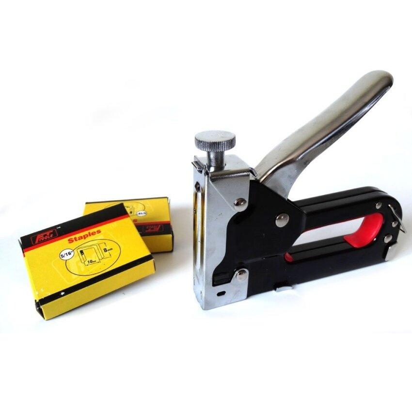 Multitool Nail Staple Gun Furniture Stapler For Wood Door Upholstery Framing Rivet Gun K ...