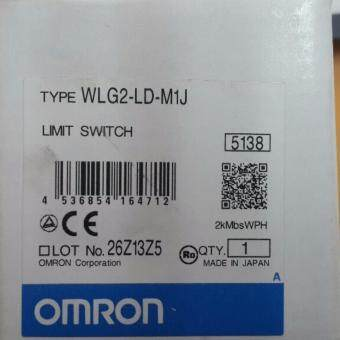OMRON LIMIT SWITCH WLG2-LD-M1J OMRON