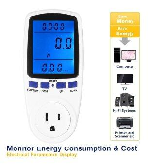 Plug In Power Meter Energy Monitor Electricity Analyzer OutletSwitch Socket Hot - intl