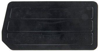 Quantum DUS245 Plastic Divider for QUS245, 25cm by 10cm , Black, Case of 6 - intl