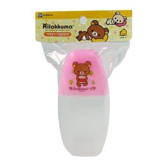 Rilakkuma Plastic Cover for Cup Water Bottle 250ml Pink