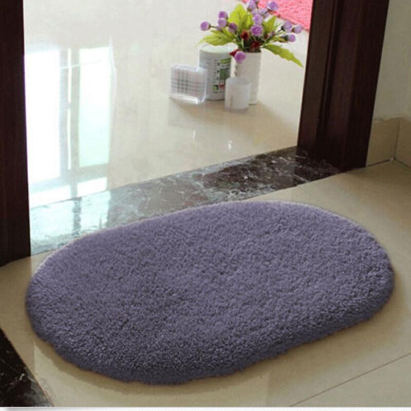 Rug Non-slip Absorbent Soft Purple 46 ...