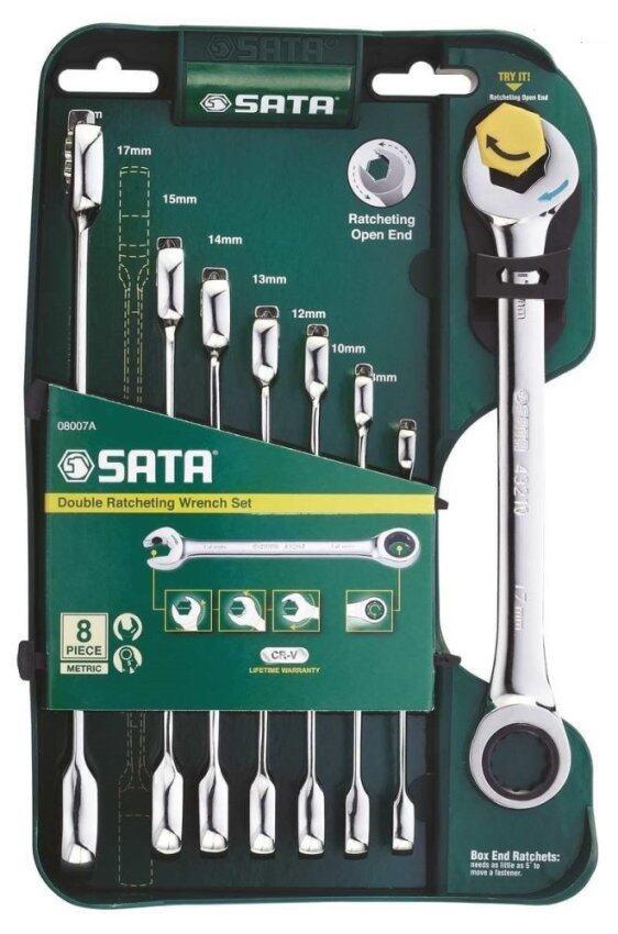 SATA ชุดประแจ 8ตัว/ชุด รุ่น 08007A