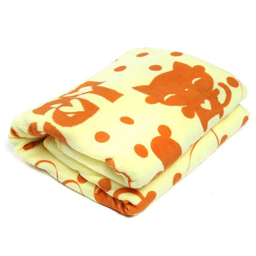 Soft Microfiber Bath Beach Towel Shower Wrap Vest Dress Lady Spa Swim Fast Dry Yellow -  ...