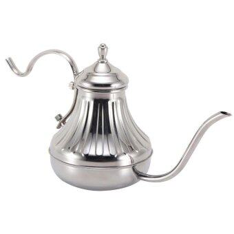 Stainless Steel Hand Drip Coffee Kettle Pour Over Coffee Tea Pot420ml/14oz - intl