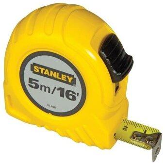 STANLEY ตลับเมตร 5 เมตร รุ่น 30-496 GOLBAL (สีเหลือง)