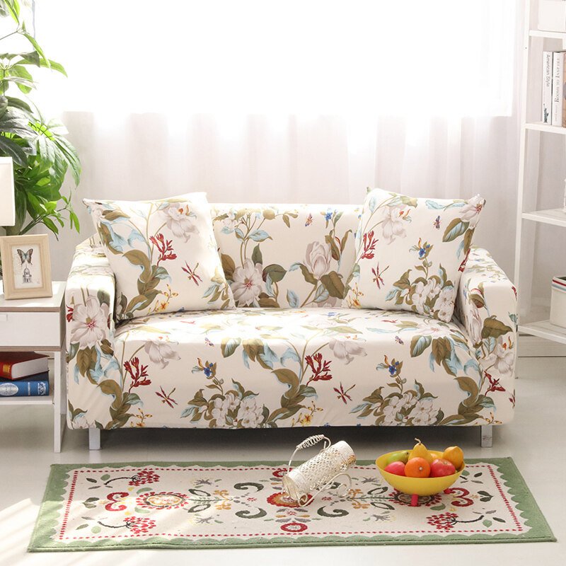 Stretch Chair Loveseat Sofa Cover 1 2 3 4 Seats Protector Couch Slipcover Decor Spring L ...