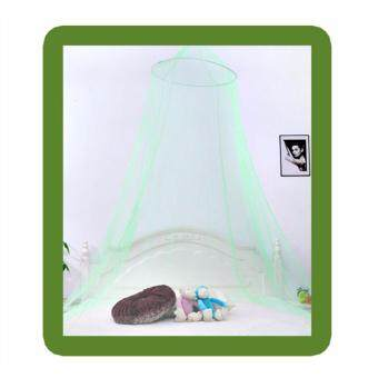 Summer Dome Princess Mosquito Net Round Ceiling Hanging Bed Netscolor:Green - intl