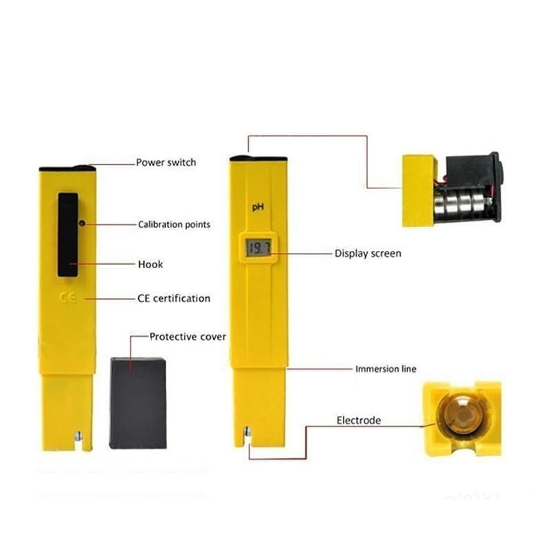 Super Deal Pocket Digital PH Meter Tester Pen TDS Tester Multifunction Water Quality Ana ...