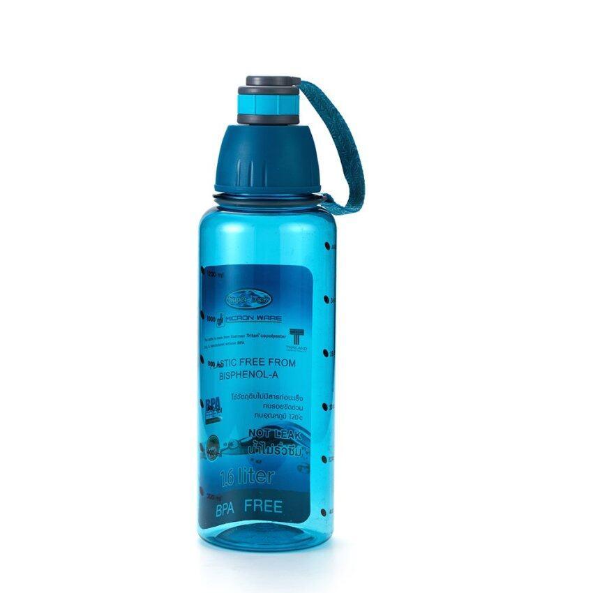 Super Lock ขวดน้ำ BPA FREE #5292 สีฟ้า