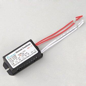SuperCart 80W Max 220V AC 0.35A Home LED Halogen Power Supply Electronic Transformer 1PCS - Intl