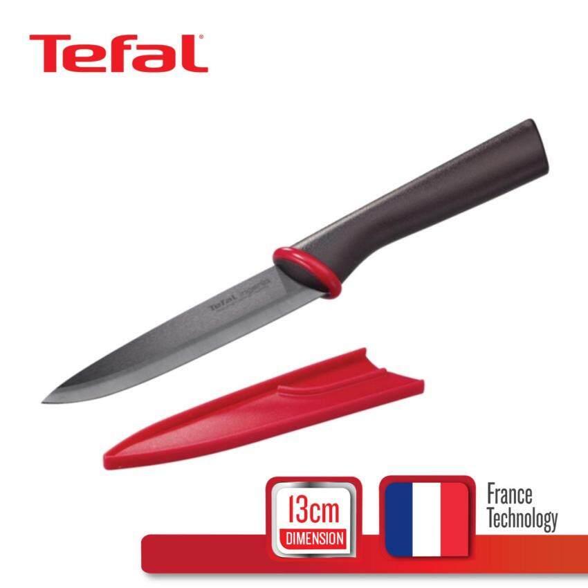 Tefal มีดเซรามิก 13 ซม. รุ่น Ingenio K1520514 - Black
