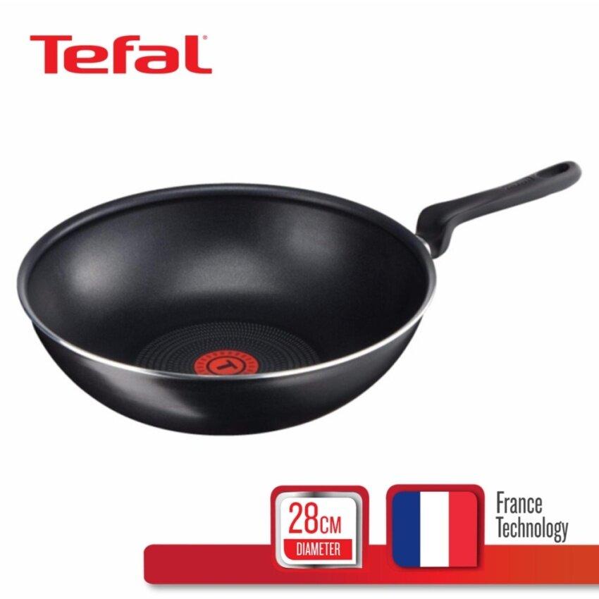 Tefal กระทะก้นลึก 28 ซม. รุ่น Cook Right B3521922