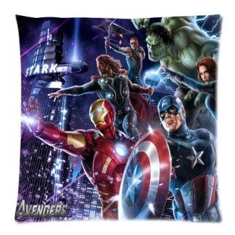 The Avengers Captain America Hulk Batman and Thor Series Custom Zippered Pillow Cases 18x18 Twin sides Printed