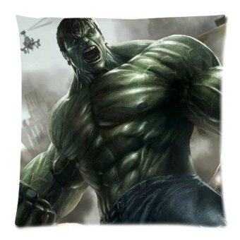 The Avengers Series Hulk Custom Zippered Pillow Cases 18x18 Twin sides Printed