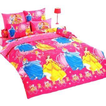 TOTO ชุดผ้าปูที่นอน + ผ้านวม โตโต้ ลายการ์ตูน เจ้าหญิง รุ่น PC43