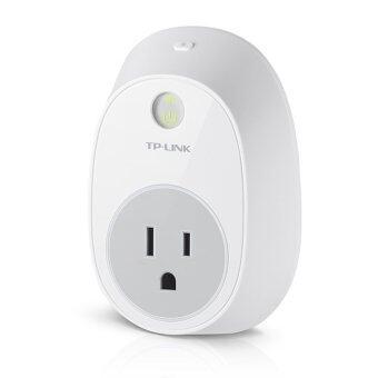 TP-LINK ปลั๊กอัจฉริยะ อุุปกรณ์ เปิด-ปิด อุปกรณ์ไฟฟ้าผ่านมือถือ WIFI Smart Plug รุ่น 'HS100' (สีขาว)