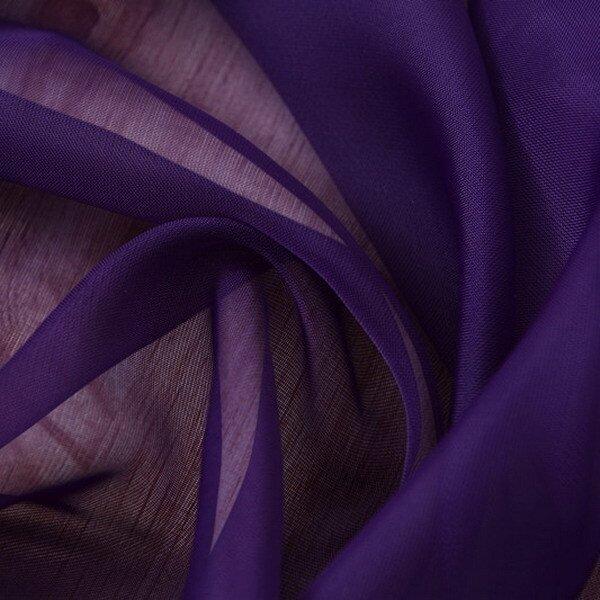 Valances Colors Floral Tulle Voile Door Window Curtain Drape Panel Sheer Dark Purple- -  ...