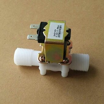 Water Inlet Flow Switch Electric Solenoid Valve Normally ClosedMagnetic Switch - intl