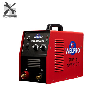 WELPRO เครื่องเชื่อม INVERTER รุ่น WELARC200 ( สีแดง )