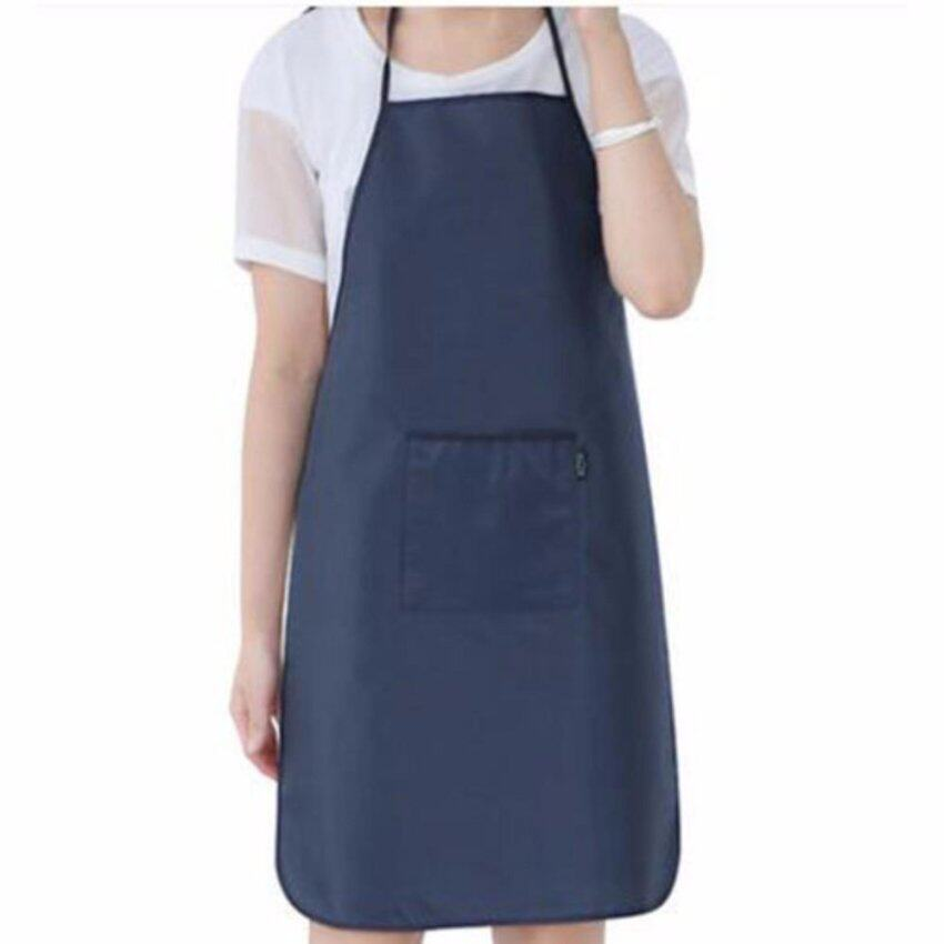 XKP Waterproof apron Simple adult kitchen oil pollution proof apron working clothes - intl