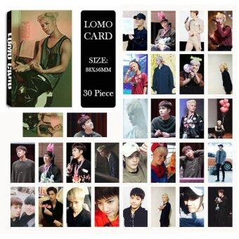 Youpop KPOP GOT7 Hard Carry JACKSON Album LOMO Cards K-POP NewFashion Self Made Paper