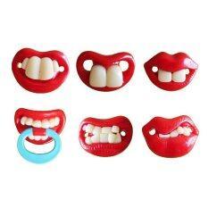 10 Pcs Baby Funny Nipple Funny Buck-Toothed Rabbit Teeth Pacifier ส่งฟรี