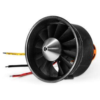 64mm Duct Fan 12-Blade 3500KV Brushless Motor Unit Spare Parts for RC EDF Jet Airplane