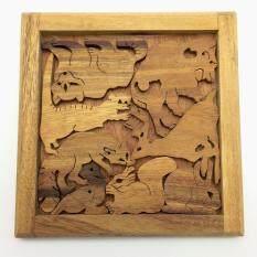 Ama-Wood ของเล่นไม้ เกมส์สัตว์