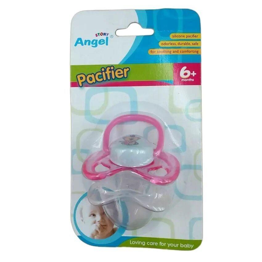 Angel Stony Pacifier 6+ months แองเจิล สโตนี่ จุกนมหลอก (1 ชิ้น) ...