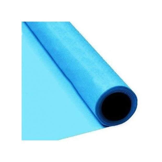 Baby Blue Paper Banquet Roll 8M X 1.2M - intl