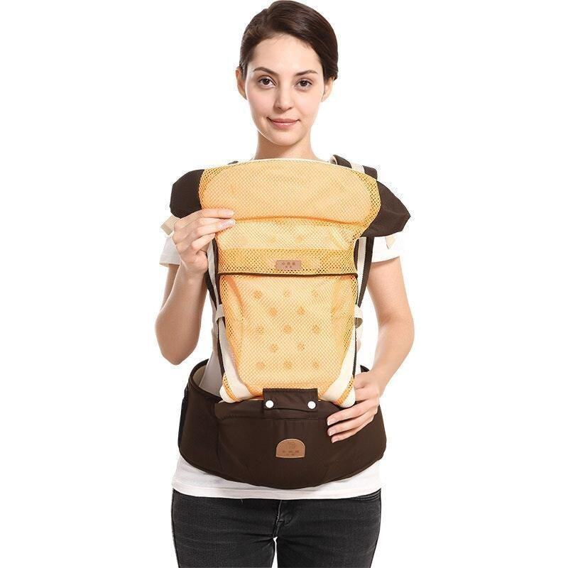 Baby Carrier 3 in1 Kangaroo Baby Hipseat Breathable Toddler Kids Sling - intl