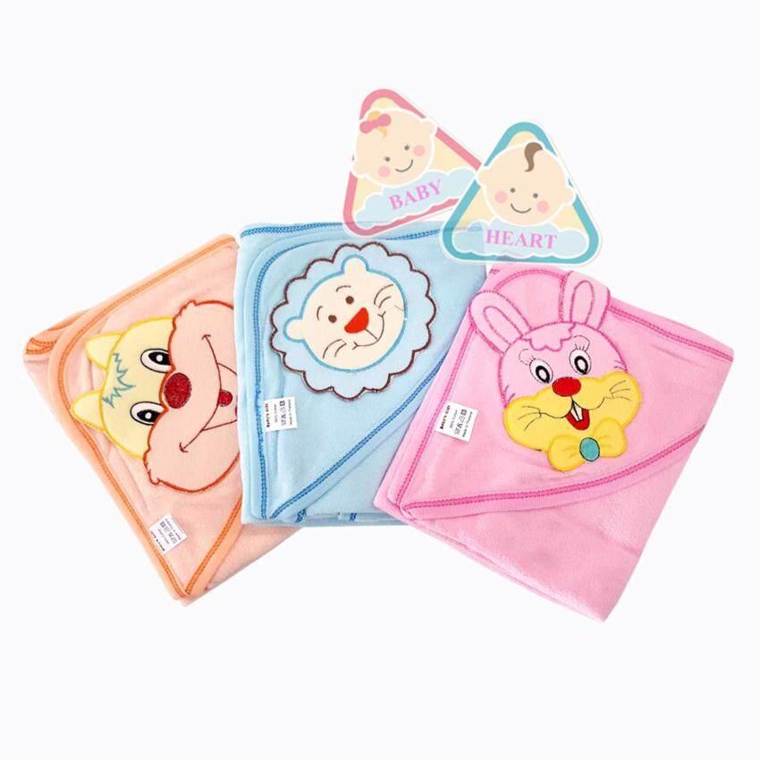 Baby heart ผ้าห่อตัวเด็กทำจากผ้าขนหนู หนานุ่ม 100% cotton ...