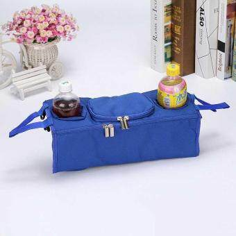Baby Stroller Bag Accessories 3 in 1 Organizer Hanging Bags - intl