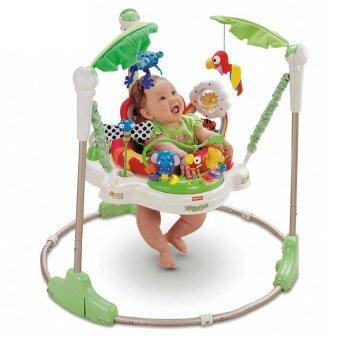 Baby Walker Jumpero จั๊มเปอร์รู เก้าอี้กระโดด หมุนได้ 360 องศา สีเขียว
