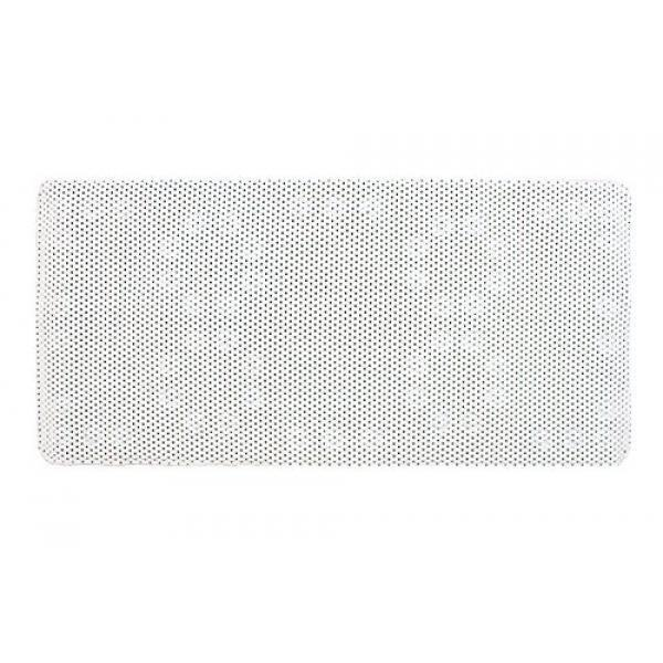 Bathtub Suction Mat Large Non Slip Rubber Comfort 36 x 17 Inches Grip Luxury White Foam Hot Tub Spa Bathing Rubber Pad Shower Bathing Bathroom Essentials Showering by MakExpress - intl