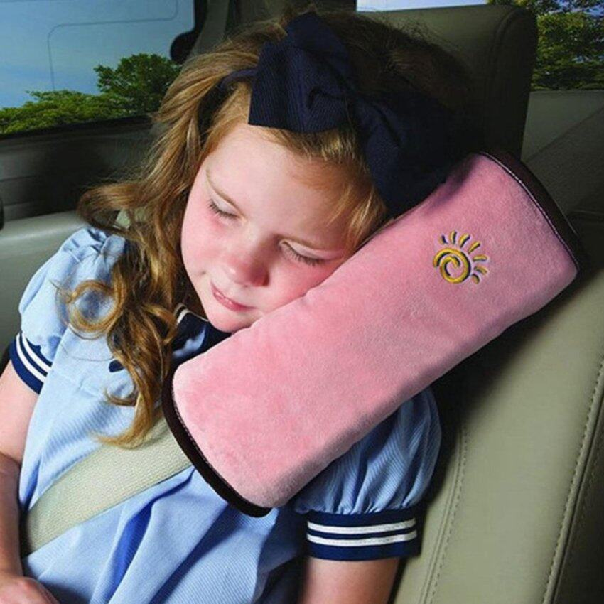 Child Kids Safety Car Seat Belt Pad Strap Harness Shoulder Sleep Pillow Cushion - intl