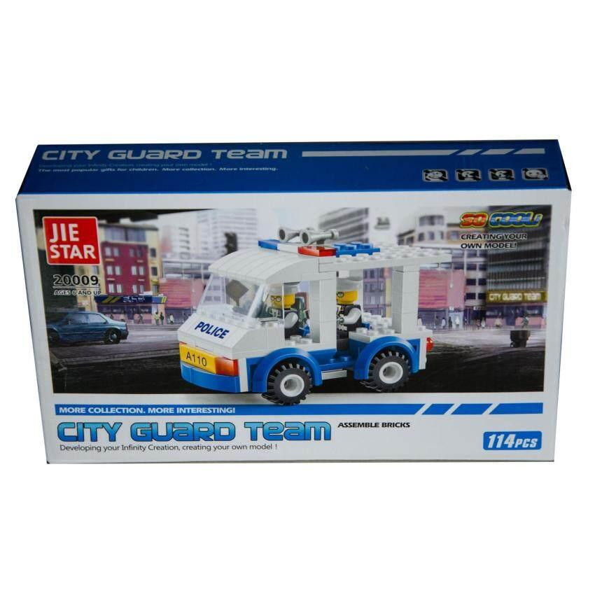 เลโก้ City Guard Team 114 ชิ้น No.20009