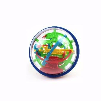 Cooplay 100 Steps 929A Magical Maze Style Intellect Ball Educational Perplexus Maze Puzzle Marble Puzzle Game perplexus magnetic balls - intl