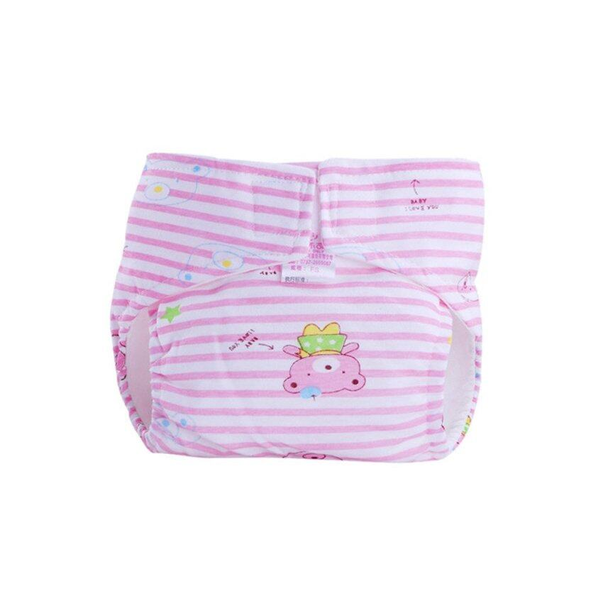 Cute Baby Cotton Training Pants Reusable Infants Nappies Diapers Pink ...