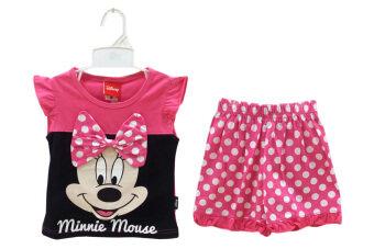 Disney เสื้อผ้าเด็ก ชุดเสื้อและกางเกง มินนี่ เม้าส์ รุ่น MN-2021