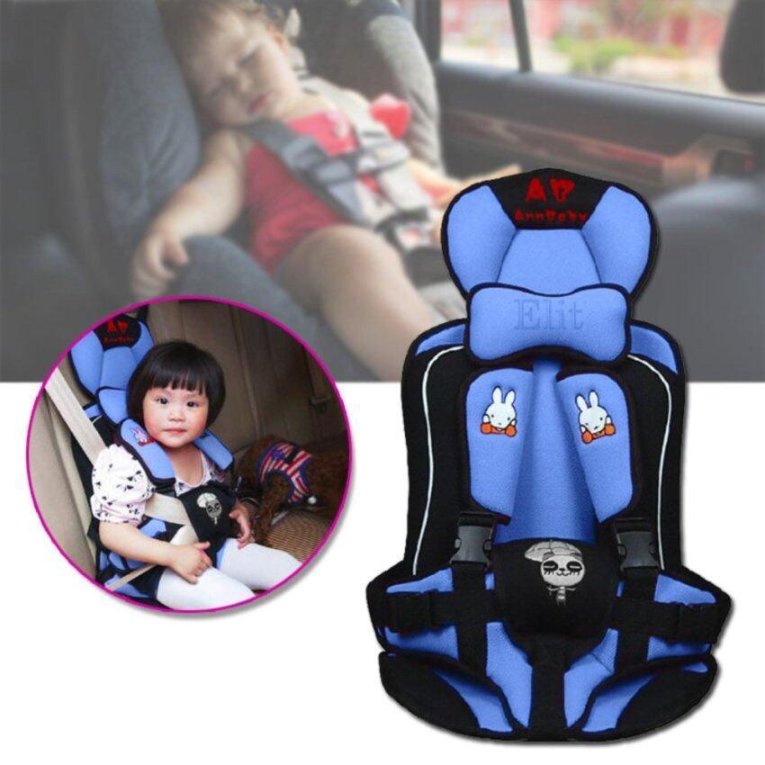 Elit คาร์ซีท ที่นั่งในรถสำหรับเด็ก อายุ 9 เดือน - 6 ปี - สีชมพู/สีฟ้า ...