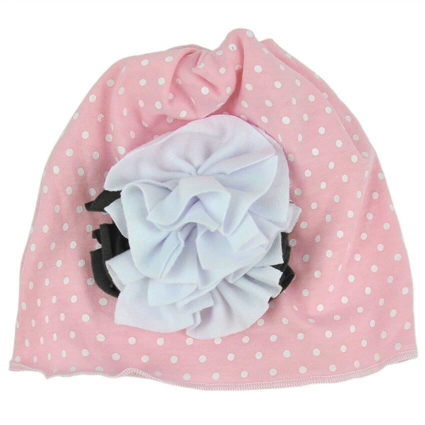 GDS Cute Baby Girl Kids Cotton Flower Hat Cap Soft (Pink) - intl ...